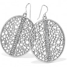 Load image into Gallery viewer, Fiji Sparkle French Wire Earrings Silver