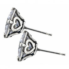 Load image into Gallery viewer, Brilliance 8mm Post Earrings