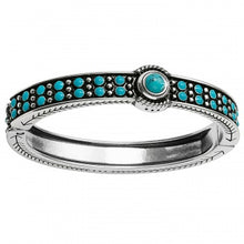 Load image into Gallery viewer, Southwest Dreams Turquoise Hinged Bracelet