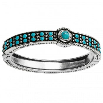 Southwest Dreams Turquoise Hinged Bracelet