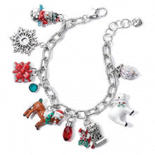 Load image into Gallery viewer, Christmas Carol Charm Bracelet