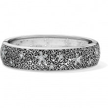 Load image into Gallery viewer, Baroness Fiori Hinged Bangle