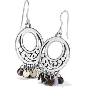 Contempo Shell Black Fr Wr Earrings