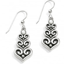 Load image into Gallery viewer, Alcazar Heart Trio Fr Wr Earrings