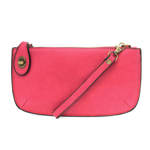 Mini Crossbody Wristlet Clutch Fuschia