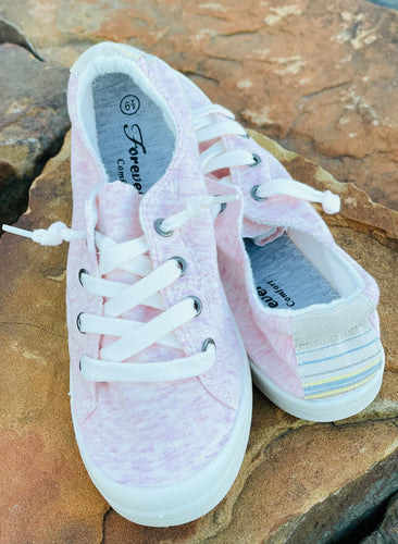 Candi Comfort Sneakers-Lt Pink