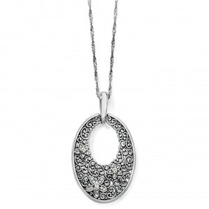 Baroness Fiori Oval Short Necklace