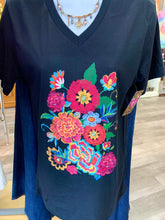 Load image into Gallery viewer, Fiesta Floral Tee
