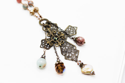 Amazonite Beauty Cross
