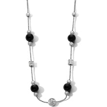 Load image into Gallery viewer, Meridian Prime Black Stone Necklace