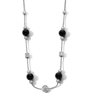 Meridian Prime Black Stone Necklace