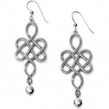 Load image into Gallery viewer, Interlok Endless Knot French Wire Earrings