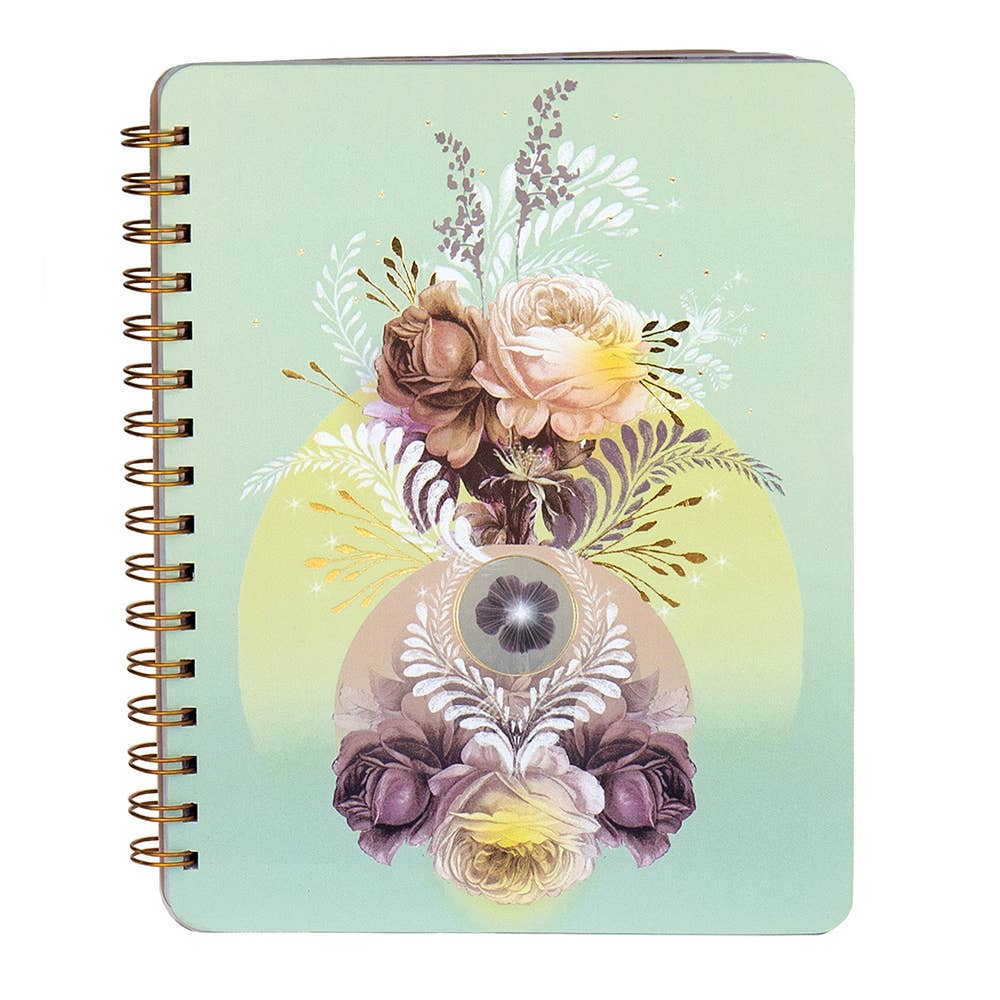 Solar Blooms Notebook