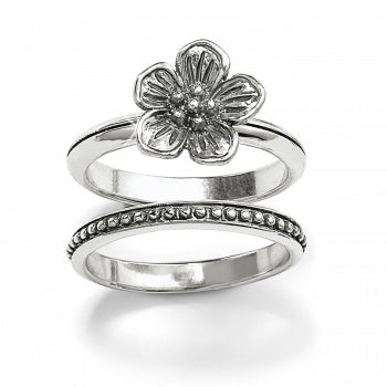 Sakura Stacking Ring