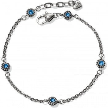Twinkle Sapphire Anklet