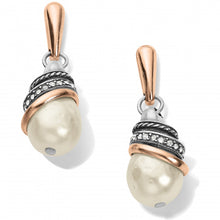 Load image into Gallery viewer, Neptune's Rings Pearl Teardrop Earrings