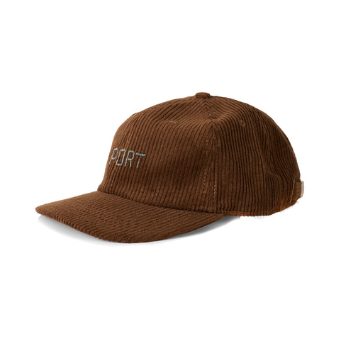 Port Corduroy Cap Walnut