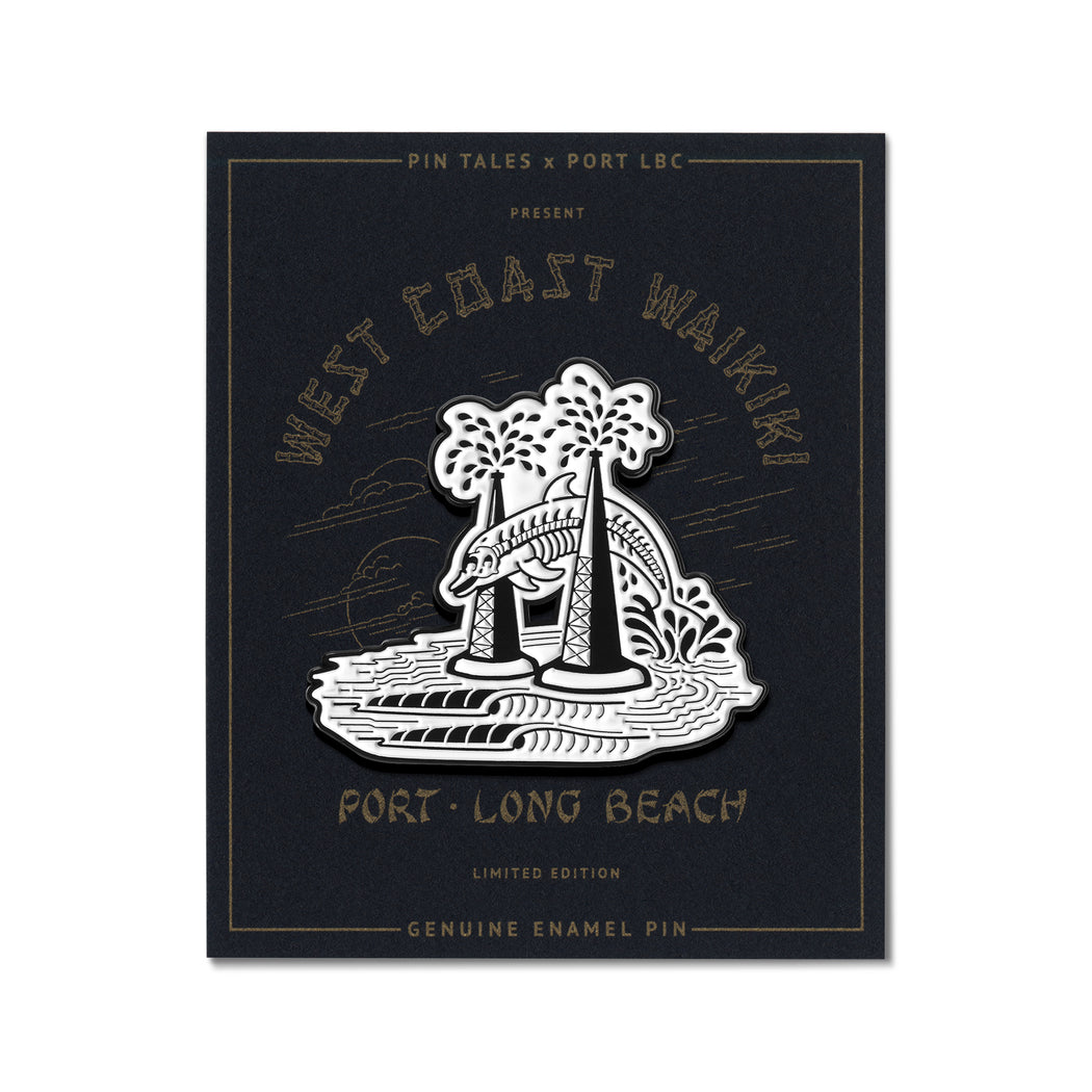 West Coast Waikiki Pin