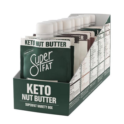 SuperFat Nut Butter Variety Box - (Box of 10)