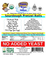 Sourdough Pretzel Rolls - 4 pk