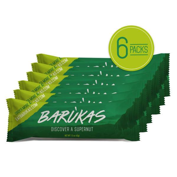 Barùkas Nuts Travel Pack Bundle (6 Pack)