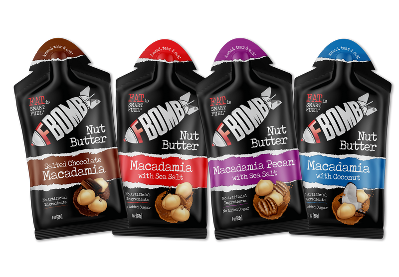 FBOMB Nut Butter 4-Pack Sampler