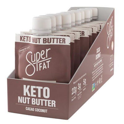 SuperFat Cacao Coconut Nut Butter - (Box of 10)