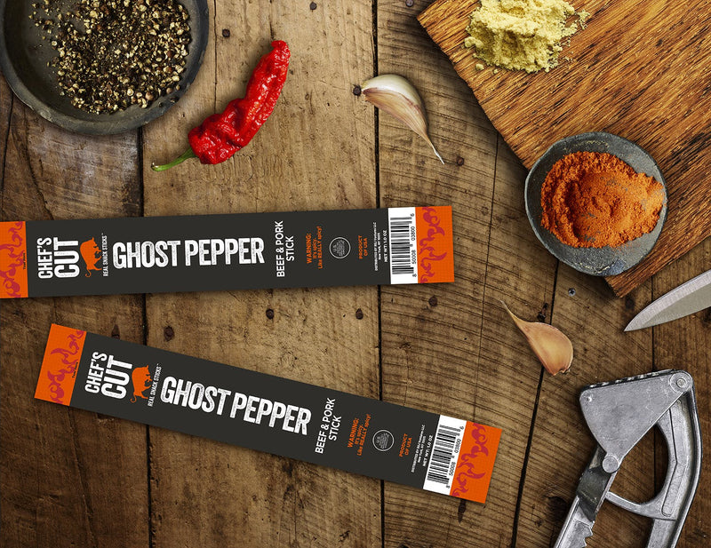 BEEF & PORK STICK GHOST PEPPER