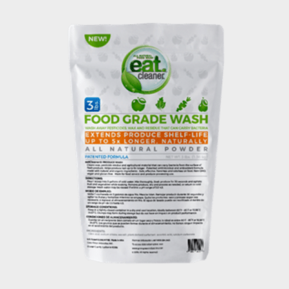 EATCLEANER® PRODUCE WASH POWDER – 3 LB. BAG