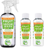 EATCLEANER® FRUIT & VEGGIE WASH SPRAY AND REFILL BUNDLE – AS SEEN ON QVC