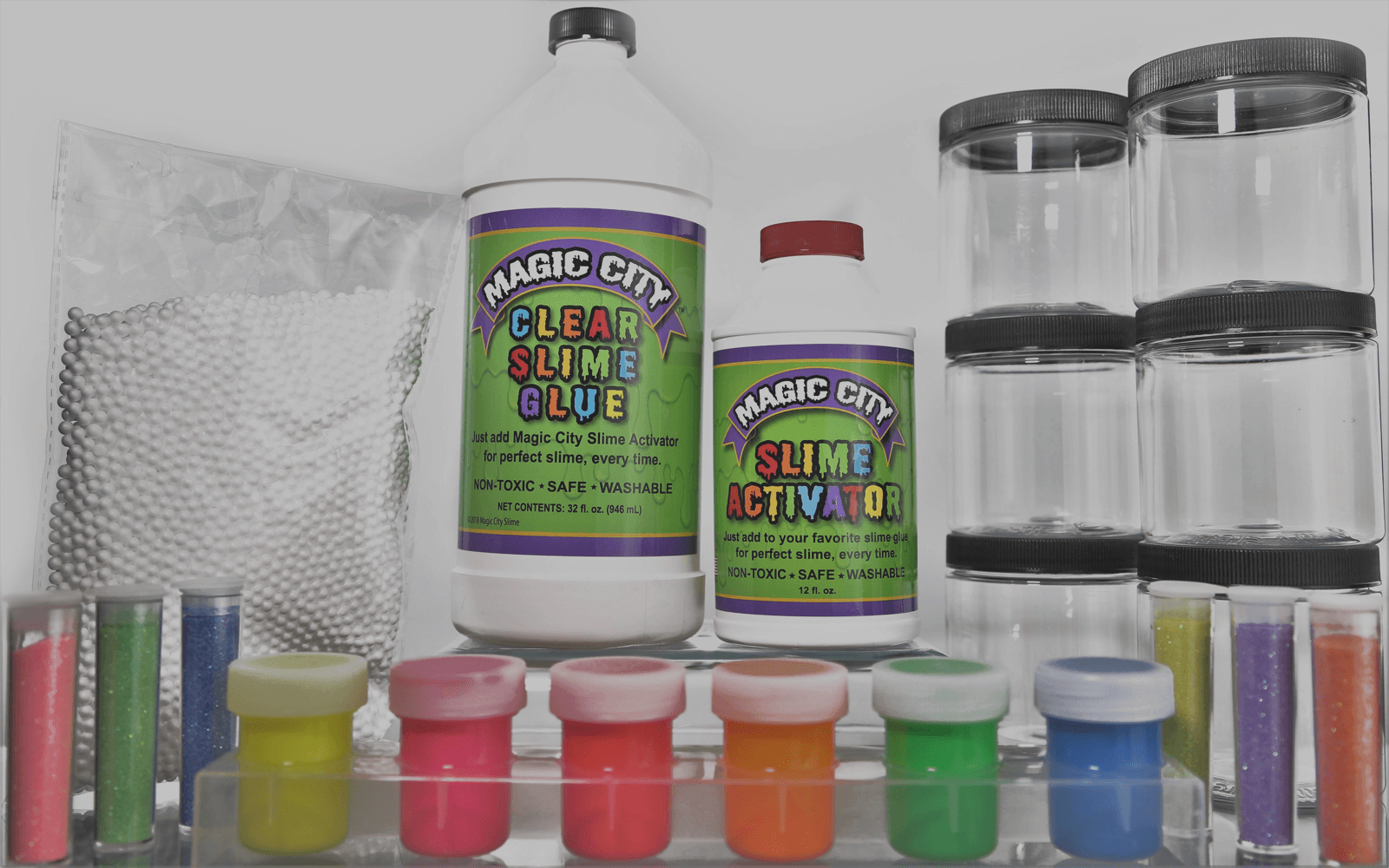how to make slime with glitter glue and slime activator