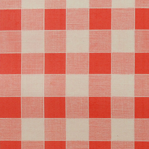 Tablecloths UK - Red Gingham Vinyl Tablecloth