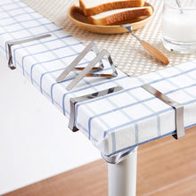 Load image into Gallery viewer, Tablecloths UK - Stainless Steel Tablecloth Clips