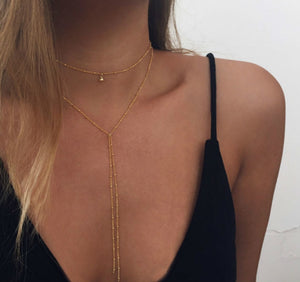 Golden Len Necklace