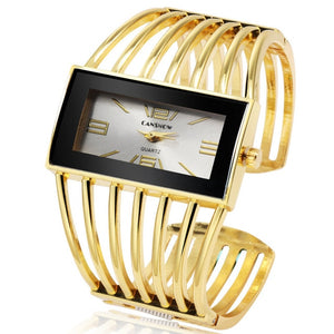 Golden Wrap Eloqu Bracelet Watch