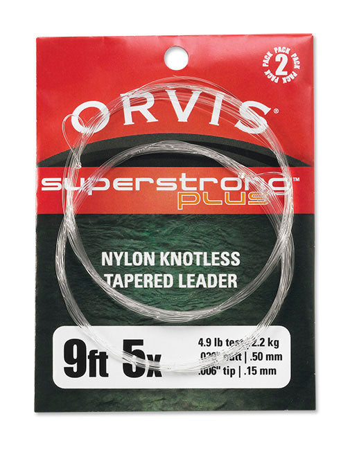 ORVIS SUPERSTRONG PLUS LEADERS 2PK