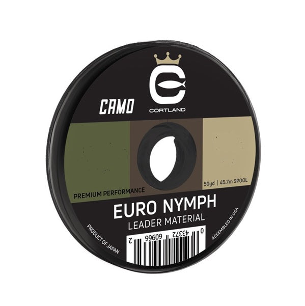CORTLAND EURO NYMPH LEADER MATERIAL 50yd