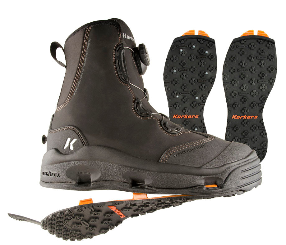 KORKERS DEVIL'S CANYON WADING BOOTS