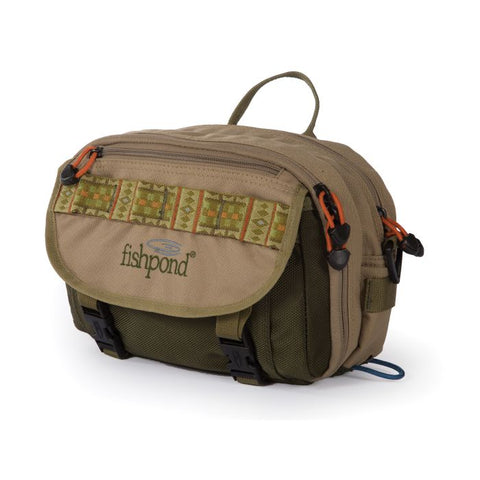 FISHPOND BLUE RIVER CHEST/LUMBAR PACK KHAKI/SAGE