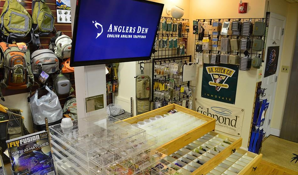 anglers den fly fishing