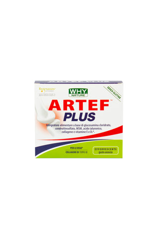 ARTEF PLUS EFFERVESCENT - WHY NATURE - ORANGE FLAVOUR