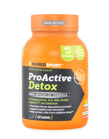 NAMED SPORT - PRO ACTIVE DETOX 60 CPR