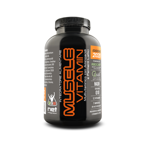 MUSCLE VITAMIN - NET - 120 cpr