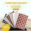 Self-adhesive Furniture Screw Cover Stickers