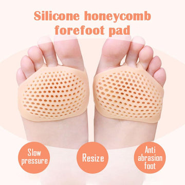 Silicone Honeycomb Forefoot Pad(1 Pair)