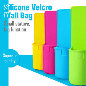 Silicone Velcro Wall Bag