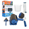 Handle Paint Roller Brush Kit