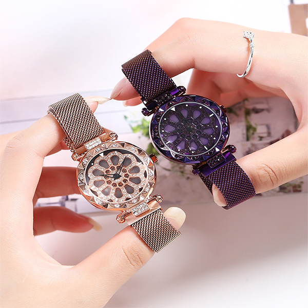 Magnetic Absorption Quartz Watch