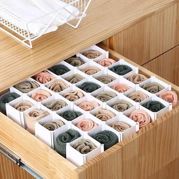 Honeycomb Latticed Partition Drawer