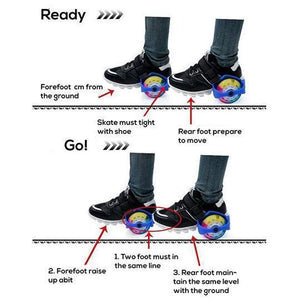 FAST™ Flash Roller Skates(1 Pair)